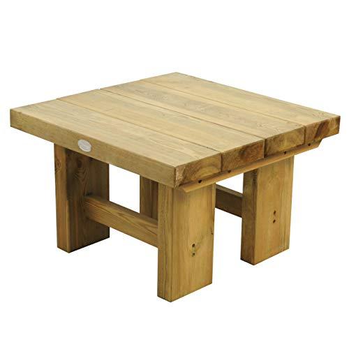 Wooden Low Level Sleeper Garden Patio Coffee Table 1.2m