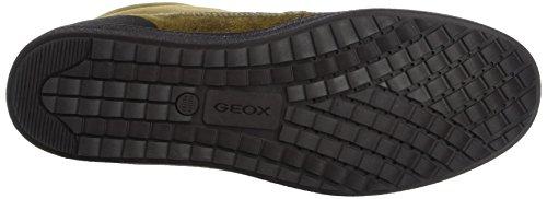 Geox Damen D Amaranth B Abx Sneakers ocker/gelb