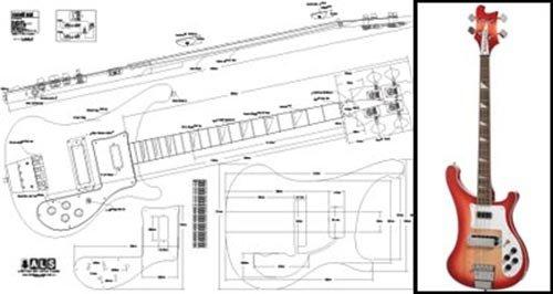 Plan de TOKAI rebelrocker Bass–Escala completa impresión