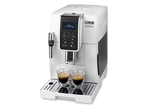 DeLonghi Dinamica Ecam 350.35.W Espresso machine 1.8L Color blanco - Cafetera (Independiente, Totalmente automática, Espresso machine, Granos de café, De café molido, Color blanco, LCD)