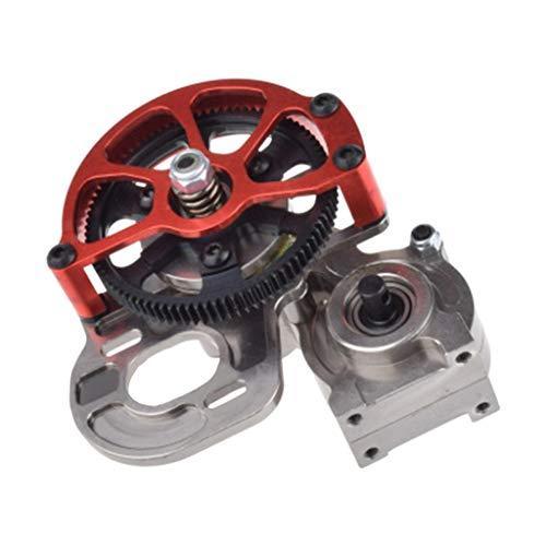 MA87 Motor Getriebe Metall zusammengebautes Getriebegehäuse-Getriebe mit geradem Gang für Auto 1/10 SCX10 (Engel Getriebe)