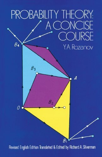 Probability Theory: A Concise Course (Dover Books on Mathematics) by Y.A. Rozanov (1977) Paperback