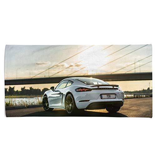 Power Towel | Individuelles Sport-Handtuch mit Bild von deinem Traum Auto | Tuning Geschenk für Autofans | Unterschiedliche Größen (70 x 140 cm Duschtuch)