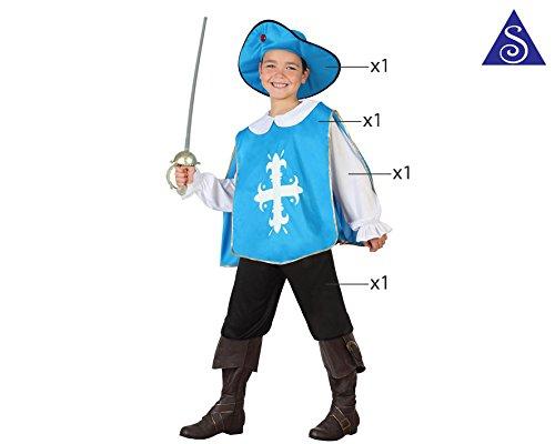 Imagen de atosa  disfraz de mosquetero, talla m, 5 6 años 111 26821  alternativa