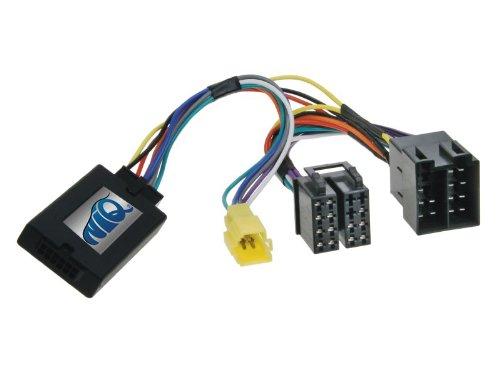 NIQ Lenkradfernbedienungsadapter geeignet für JVC Autoradios, kompatibel mit RENAULT Twingo ab Bj.2000 bis 2006 (Ab Stein Ohrringe)
