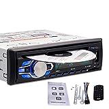 KBKG821 Auto-DVD-Player, Bluetooth-Freisprech- / Musik-CD-Player mit Ausschaltspeicher, Unterstützung für USB- und TF-Karte, Uhr und Sprachnavigation