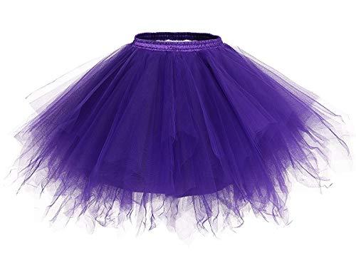 Tchibo Halloween Kostüm - URVIP Damen's Tüllrock 50er Rockabilly Petticoat