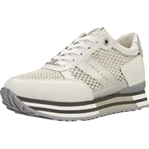 Apepazza Sneaker Running MOD. RICCARDA in Pelle Tessuto Bianco Donna  DS19AP05 394acd55bed