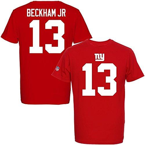 Majestic NFL ODELL BECKHAM JR. #13 - New York Giants Player T-Shirt, Größe:XL -