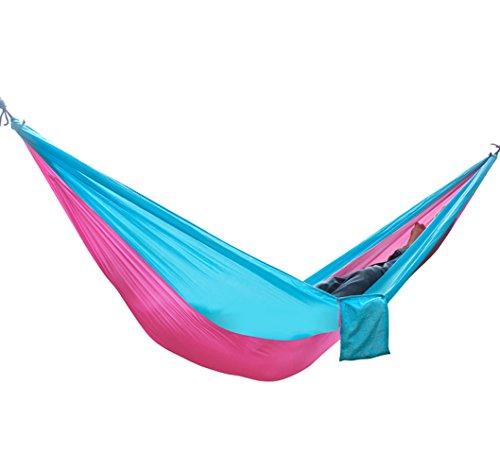 Outdoor Hamaca de viaje ultra Light más personas Matte 300kg carga máxima de Juego con fijación para viaje, camping, Jardín, Trekking, playa, Travel de Hammock