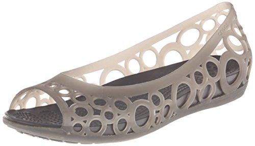 crocs Adrina Flat 11238, Damen, Ballerinas, Schwarz (Black), EU 36/37 (US W6) -