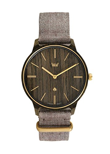 WeWood Damen-Armbanduhr Iris Beige Gold WW65002 (Uhr Wewood)