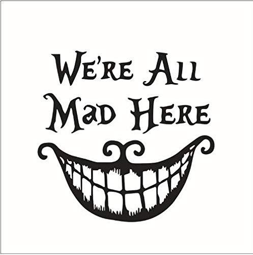 kleber Halloween Kreative Fliegende Hexen Lächelndes Gesicht Hauptwanddekoration Wasserdicht Entfernbare Wandaufkleber ()