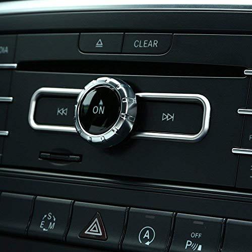 ABS Cromo Interne Accessori CD Interruttori Lustrino Rifiniture Accessori per CLA GLA GLE B Class A-Class A180 W176 E200 E320 E400 Coupe AMG, 2pc/set