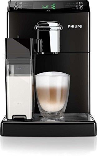 Philips HD8847/01 4000 Serie Kaffeevollautomat, CoffeeSwitch, integrierte Milchkaraffe, schwarz