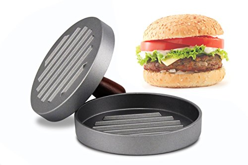 antihaftbeschichtet Burger Press Hamburger Patty Maker, ideal für BBQ Grillen Backen Pfanne Frikadellen Patties cheeseburgers Kleine Bun Shaper