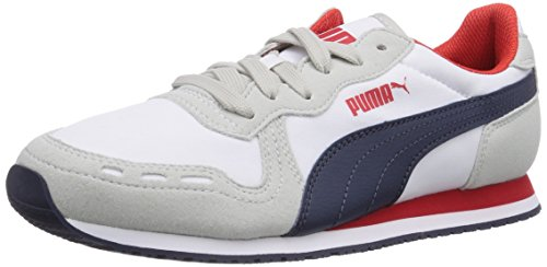 Puma Cabana Racer Fun, Baskets Basses Unisexe Adulte Grigio (grau (gris Violet-blanc-peacoat 03))