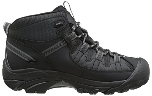 KEEN Targhee II Mid Tac chaussures randonnée Black/Gargoyle