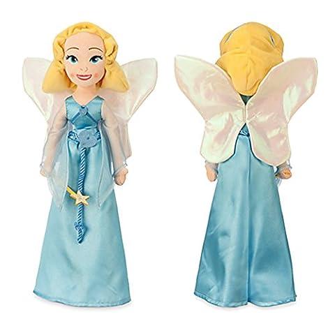 Peluche Pinocchio - Officiel Disney Pinocchio 50cm fée bleue en