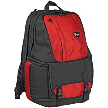 """Lowepro Fastpack 250 Backpack for SLR Kit, 15.4"""" Notebook and General Gear - Red"""