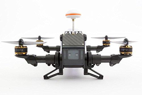 XciteRC 15003850 - FPV Racing Quadrocopter Furious 320 RTF mit Full HD Kamera, Videobrille Goggle V2, GPS, OSD, Akku, Ladegerät und Devo 10 Fernsteuerung, weiß - 10