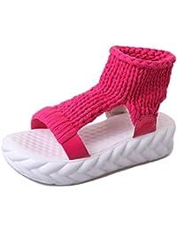 Summer,Open Toe,Thick-soled,Flat Sandals/Mode Décontractée,Chaussures Femme