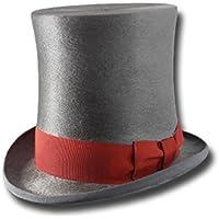 Cappello a cilindro a tuba Melousine Grigio b8a18fceba80