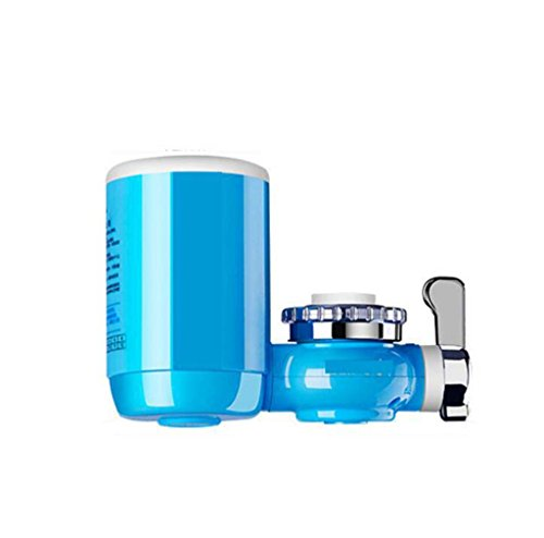 Kaxima Leitungswasser Filterreiniger, Wasserhahn-Filter, Wasserhahn Wasser-Filter, Filter-Tap Water Purifier Schalter mit Ceramics Filterpatrone 15,1 × 10,2 cm (Wasser Filter Wasserhahn Purifier)