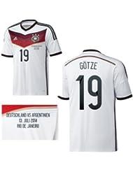 adidas DFB DEUTSCHLAND Trikot Home Herren WM Finale 2014 - GÖTZE 19