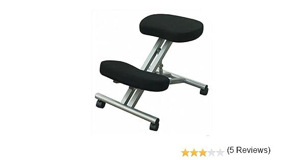 Sgabello ergonomico leonardo sedia posturale ufficio scrivania