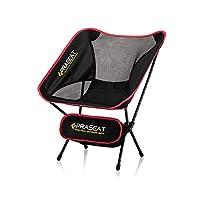PRASEAT Kamp Sandalyesi Pratik Çantalı Plaj Sandalyesi