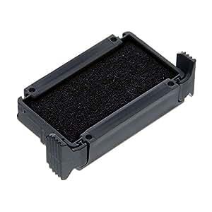 Dormy Encre à tampon recharges pré encrées K/0 compatible 4810/49140 Noir Boite de 10