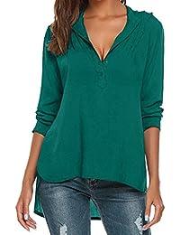 b59bc9f992 Amazon.es  tallas grandes mujer - Envolvente   Blusas y camisas ...