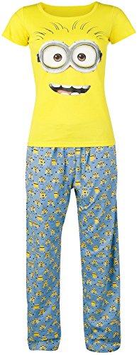 Minions Dave Pijama Amarillo/Azul