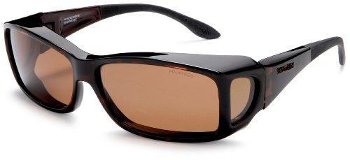 Haven Fits On Sunwear Windemere Sonnenbrille, Braun (Tortoise Frame/Amber Lens), Einheitsgröße