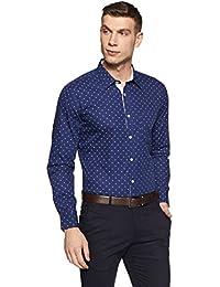 Amazon Brand - Symbol Men's Solid Formal Shirt