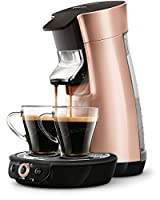 Senseo Viva Café HD7831/30 Freestanding Fully Automatic Coffee Machine in Capsules 0.9L 6 Cups, Copper – Coffee (Freestanding, Capsule Coffee Machine, Copper, Mug, Buttons, 0.9 l)