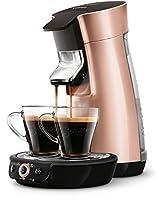 Senseo Viva Café HD7831/30Freestanding Fully Automatic Coffee Machine in Capsules 0.9L 6 Cups, Copper–Coffee (Freestanding, Capsule Coffee Machine, Copper, Mug, Buttons, 0.9l)