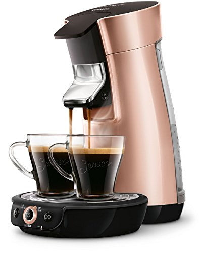 Philips Senseo HD7831/30 Viva Cafe Kaffeepadmaschine (Kaffee Boost Technologie) kupfer