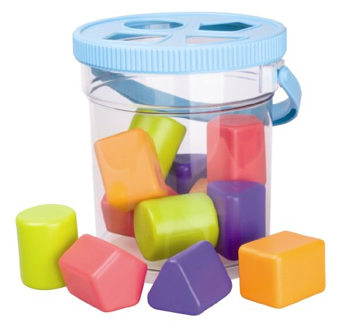My Precious Baby Shape Sorter Bucket (Pack of 16 Pieces)