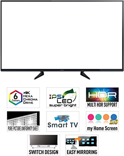 Panasonic 139.7 cm (55 inches) Viera TH-55EX600D 4K UHD LED TV (Black)