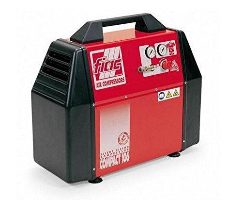 De pistón compresor aire sin aceite Fiac Compact