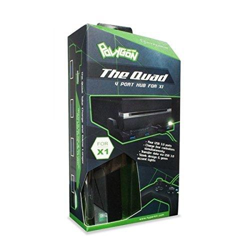 Hyperkin Polygon The Quad 4-Port USB 3.0 Hub for Xbox One by Hyperkin