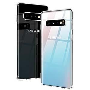 RANVOO Coque Samsung Galaxy S10, Transparent Protection Ultra Mince Slim Souple TPU Etui
