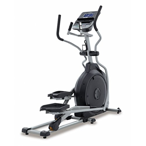 Spirit Elliptical XE 195 - Ellipsentrainer, Cross Trainer mit Hand-Puls-Sensoren, Ergometer, Cardio Fitness
