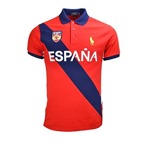 Ralph Lauren Herren Poloshirt Rot