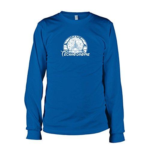 TEXLAB - Turtles Technodrome - Langarm T-Shirt Marine