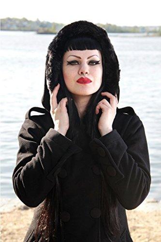 Vixxsin -  Cappotto  - Donna Black L