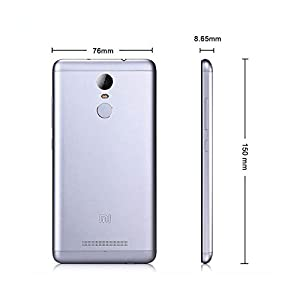"Xiaomi Redmi Note 3 Pro Smartphone 4G 32GB Smartphone 5.5""Android, 5.1 Doble Sim, Con Google Play [Version Europea] Gris"