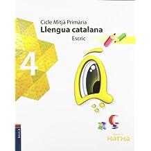 Llengua catalana 4t.Primària Escric Projecte Xarxa - 9788447923861
